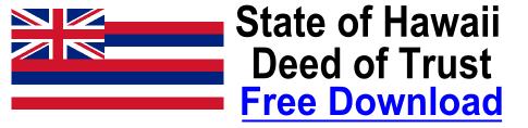 Deed of Trust Hawaii