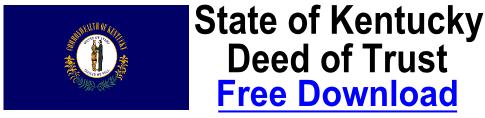 Deed of Trust Kentucky