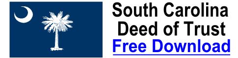 Free Deed of Trust South Carolina