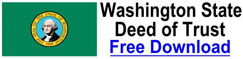 Free Deed of Trust Washington