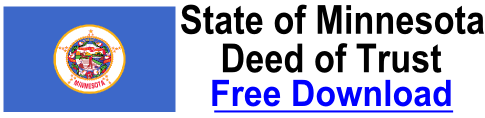 Free Deed of Trust Minnesota