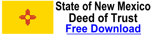 Free Deed of Trust New Mexico