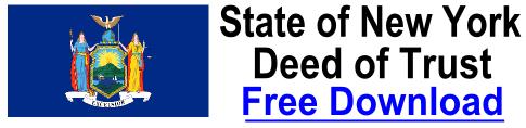 Free Deed of Trust New York