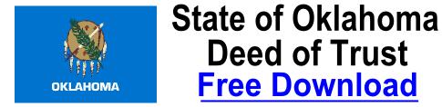Deed of Trust Oklahoma