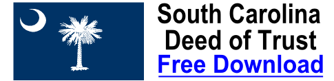 Free Deed of Trust South Carolina