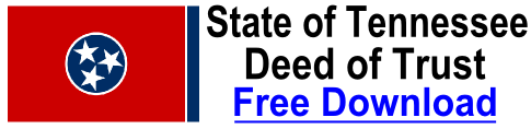 Free Deed of Trust Tennessee