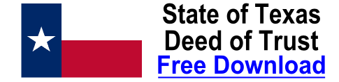 Free Deed of Trust Texas