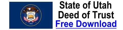 Free Deed of Trust Utah