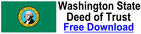Free Deed of Trust Washington