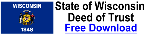 Free Deed of Trust Wisconsin